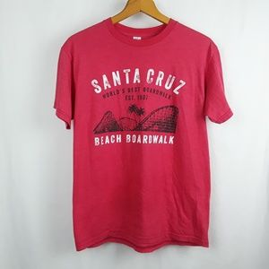 Santa Cruz California Beach Boardwalk T-Shirt